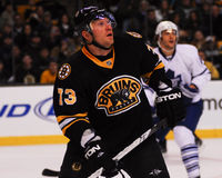 Michael Ryder som är framåt, Boston Bruins Royaltyfri Foto