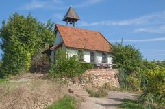 Michael`s Chapel,german Wine Route,Germany Royalty Free Stock Photos
