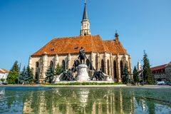 Michael's church in Cluj Napoca Royalty Free Stock Photos