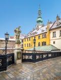 Michael ` s Poort in Bratislava slowakije royalty-vrije stock afbeeldingen
