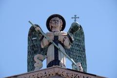 michael saint Arkivbild