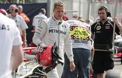 Michael Schumacher Photographie stock libre de droits