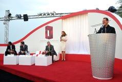 Michael Schumacher Business Avenue Launch Royalty-vrije Stock Fotografie