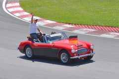 Michael Schumacher in de Canadese Grand Prix van 2012 F1 Royalty-vrije Stock Foto