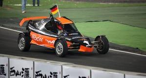 Michael Schumacher (Duitsland) bij ROC 2009 Royalty-vrije Stock Foto's