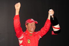 Michael schumacher at the Musée Grevin Royalty Free Stock Photo