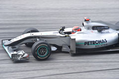 Michael Schumacher Petronas Mercedes GP Team Royalty-vrije Stock Afbeelding