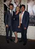 Michael Sheen, Hope Davis and Dennis Quaid Stock Photography