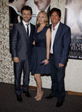 Michael Sheen, Hope Davis and Dennis Quaid Stock Image