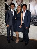 Michael Sheen, Hope Davis and Dennis Quaid. At the Los Angeles Premiere of `The Special Relationship` held at the Director`s Guild of America in Hollywood stock photo