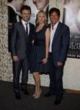 Michael Sheen, Hope Davis e Dennis Quaid imagem de stock