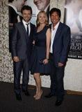 Michael Sheen, Hope Davis e Dennis Quaid fotografia de stock