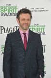 Michael Sheen. SANTA MONICA, CA - MARCH 1, 2014: Michael Sheen at the 2014 Film Independent Spirit Awards on the beach in Santa Monica, CA Stock Image