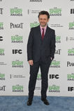 Michael Sheen. SANTA MONICA, CA - MARCH 1, 2014: Michael Sheen at the 2014 Film Independent Spirit Awards on the beach in Santa Monica, CA Stock Images