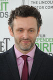 Michael Sheen. SANTA MONICA, CA - MARCH 1, 2014: Michael Sheen at the 2014 Film Independent Spirit Awards on the beach in Santa Monica, CA Stock Photos