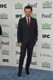 Michael Sheen. SANTA MONICA, CA - MARCH 1, 2014: Michael Sheen at the 2014 Film Independent Spirit Awards on the beach in Santa Monica, CA Stock Photo