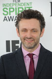 Michael Sheen. SANTA MONICA, CA - MARCH 1, 2014: Michael Sheen at the 2014 Film Independent Spirit Awards on the beach in Santa Monica, CA.nMarch 1, 2014  Santa Royalty Free Stock Image