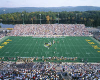 Michael Stadium in West Point, Leger v Lafayette, New York Royalty-vrije Stock Afbeeldingen