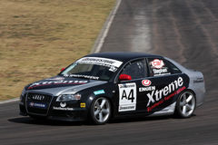 Michael Stephan. In his Audi. Photo taken at the Zwartkops on 6 September 2008 royalty free stock images