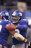 Michael Strahan New York Giants arkivfoto