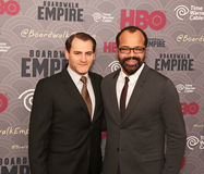 Michael Stuhlbarg e Jeffrey Wright imagem de stock