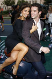 Michael Urie and Ana Ortiz Stock Images