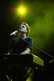 Michael W. Smith in concert Stock Photos