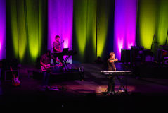 Michael W. Smith in concert Royalty Free Stock Photo