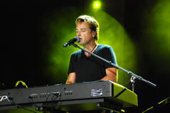 Michael W. Smith im Konzert Lizenzfreies Stockfoto