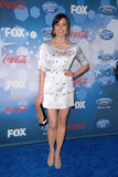 Michaela Conlin. At Fox's American Idol Top 12 Finalists Party, Industry, West Hollywood, CA. 03-11-10 Royalty Free Stock Photography