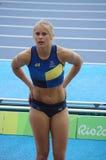 Michaela Meijer από τη Σουηδία σε Rio2016 Στοκ Εικόνες