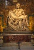 Michaelangelo Pieta-Skulptur Vatican Rom Italien Lizenzfreie Stockfotos