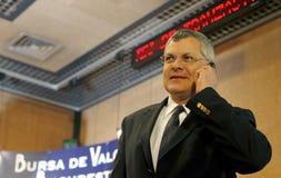MichaelBuhl - CEO der Wien-Börse lizenzfreies stockbild