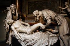 Michaelerkirche, Absetzung von Christus Stockfoto