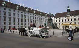 Michaelerplatz Vienna Royalty Free Stock Photo
