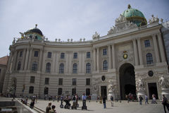michaelerplatz Vienna Obrazy Stock
