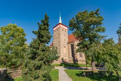 Michaeliskirche Bautzen Images stock