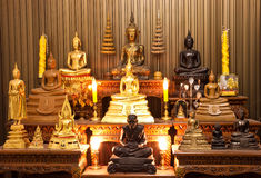 michaelita stojaka statua tajlandzka Obraz Stock