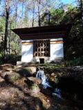 Michaelita stwarzają ognisko domowe na sposobie Paro Taktsang Bhutan Obrazy Stock