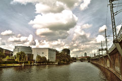 Michaelkirchstraße - Берлин стоковые фото