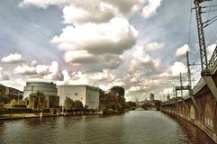 Michaelkirchstraße - Berlin Arkivfoton