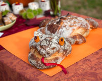 Michaelmas Festival Dragon Bread Royalty Free Stock Photos