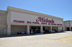 Michaels存储。 免版税库存照片