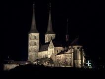 michaels kościoła świętego bamberg fotografia stock