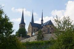 Michaelsberg в Бамберге Стоковые Изображения RF