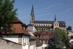 Michaelsberg Abbey in Bamberg Royalty Free Stock Photography
