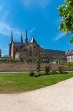 Michaelsberg Abbey in Bamberg. Beautiful old Monastery St Michael in Bamberg, Germany Stock Images