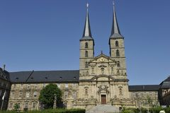 Michaelsberg Abbey, Bamberg Stock Image