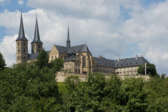 Michaelsberg Abbey in Bamberg Stock Images