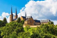 Michaelsberg abbotskloster, Bamberg, Tyskland Royaltyfria Bilder